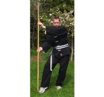 "Kung Fu Martial Arts - 72"" Bow Staff"